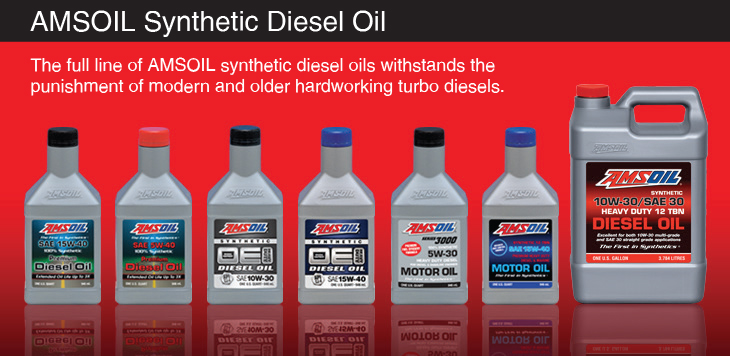 Diesel Motor Oil Line Up