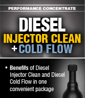Diesel injector cleaner and cold flow improver